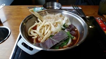 [먹거리 소개# 267] 두끼떡뽁이에서 즐긴 점심