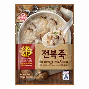 오뚜기 오즈키친 전복죽 450g(18개) 50,840원 -> 45,380원(무료배송)