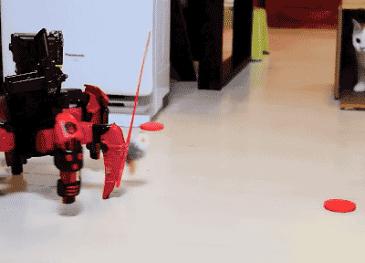 고양이 장난감 로봇