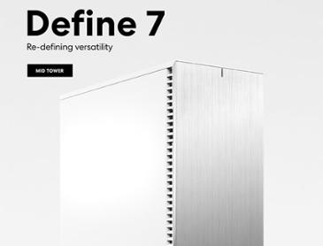 서린씨앤아이, 프렉탈디자인 PC 케이스 디파인 7 시리즈 출시