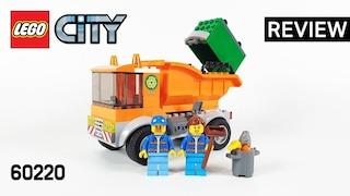 레고 시티 60220 청소 트럭(LEGO City Garbage Truck)  리뷰_Review_레고매니아_LEGO Mania