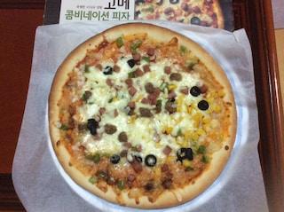 고메 콤비네이션 피자 6480원 ( 다나와 가격 )