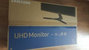 삼성 모니터 U32J590 사용기