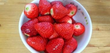 딸기 맛있네요
