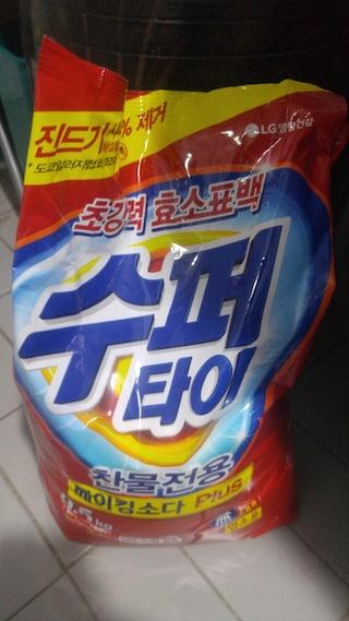 수퍼타이 베이킹 소다 세제