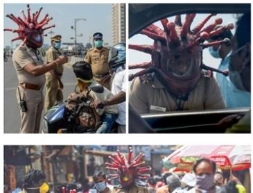 레벨업한 인도 경찰