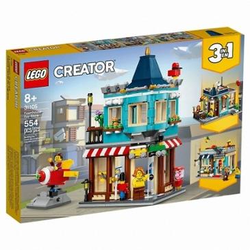 레고 크리에이터 타운하우스 장난감 가게 (31105)(해외구매) 61,800원 -> 54,000원(배송 5,900원)