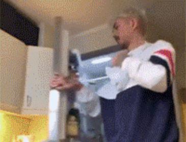 재택근무 중 아내에게 장난치기