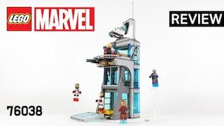 레고 마블 76038 어벤져스 타워 공격(Marvel Attack on Avengers Tower)  장기프로젝트(#08)_리뷰_Review_레고매니아_LEGO Mania