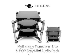 이 정도 되면 진동 잡는 백신 혹은 사운드 세정제 Hifistay Mythology Transform Lite & BOP Stay Mini Audio Rack
