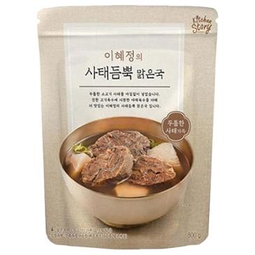 키친스토리 이혜정의 사태듬뿍 맑은국 800g(6개) 69,650원 -> 51,990원(무료배송)