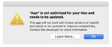 내가 쓰는 맥용 앱이 64비트인지 확인하는 방법