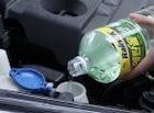 자동차 워셔액 선택할 때 에탄올 함량 표시 꼭 확인하세요