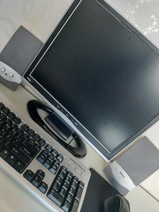 아빠 사무실에서 내 방까지 30년 된 노장 컴퓨터