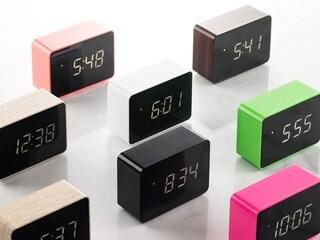 플라이토 LED 탁상시계(색상랜덤)