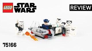 레고 스타워즈 75166 퍼스트오더 트랜스포트 스피더(First Order Transport Speeder Battle Pack)리뷰_Review_레고매니아_LEGO Mania