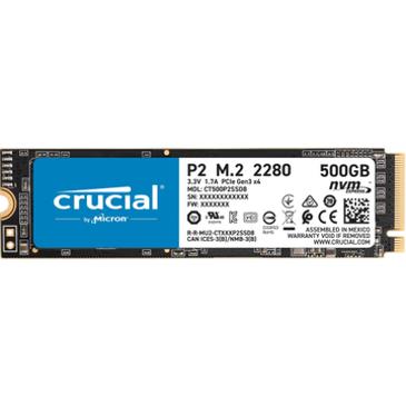 대원CTS, P1에 이은 NVMe SSD '마이크론 Crucial P2 M.2 2280' 출시  - 250GB, 500GB 두 가지 용량으로 출시