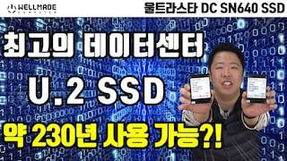 웨스턴디지털, 데이터센터용 울트라스타(Ultrastar) NVMe SSD 성능은?! (울트라스타 DC SN640)