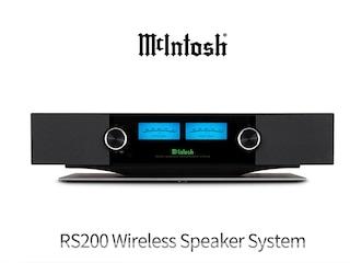 DTS Play-Fi로 즐기는 매킨토시 라이프 McIntosh RS200 Wireless Speaker System