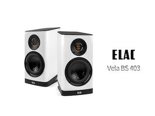 미니 콘센트로의 탄생 Elac Vela BS 403