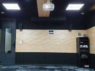 매장 지하 창고를 AV룸으로 풀 튜닝 후 노래방 시스템 까지! 엡손 TW7100+ 7.1 CH KLIPSCH 오디오 + 태진 노래방 시스템