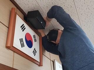 학교 음악실 음향 장치 교체 설치 및 기존 영상장비 재설치 헤코 앰비언트 5.1A 세트 외