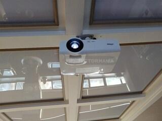 비비텍 DX263 밝기 3,500안시 빔프로젝터 사무실 설치사례