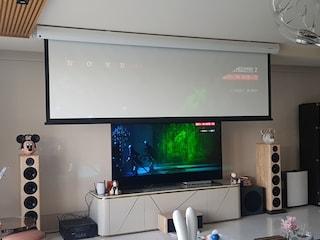 자비안 프로메테오 소니빔 리얼 4K 콤비네이션 점검 광 HDMI 케이블 교체