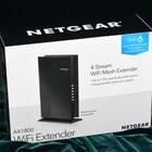 간편하고 강력한 와이파이6 확장기, NETGEAR 4-스트림 AX1800 지원 WiFi-6 Extender EAX20