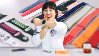 애플워치 봄맞이 줄질 I 본투비 44미리 유저, 처음 밴드때문에 후회했던 순간은!?