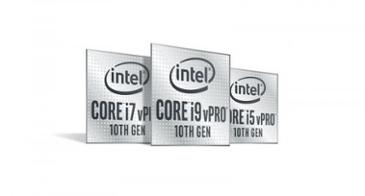 성능·생산성·하드웨어 기반 보안 향상, 인텔 10세대 코어 vPro 플랫폼 출시