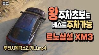왕초보 운전자, 주차초보도 베스트 주차가 가능, 르노삼성 XM3 주차조향 보조시스템(EPA)