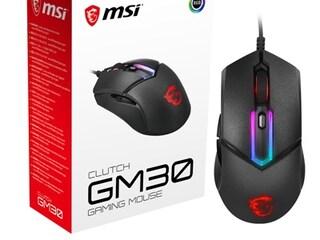 MSI코리아, 고성능 센서 탑재한 'GM30' 마우스 출시