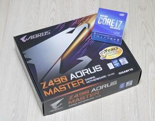인텔 10세대 CPU를 지원하는 하이엔드 메인보드 GIGABYTE Z490 AORUS M...