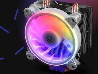 얼티메이크, 화이트 디자인의 타워형 공랭 쿨러 'EPIC 120 ARGB WHITE' 출시
