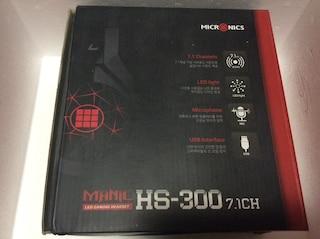 가성비 좋은 PC 헤드셋 마이크로닉스 MANIC HS-300 Virtual 7.1CH RGB LED