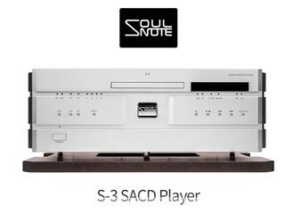 오디오로 승화한 하이엔드의 영혼 Soulnote S-3 SACD Player