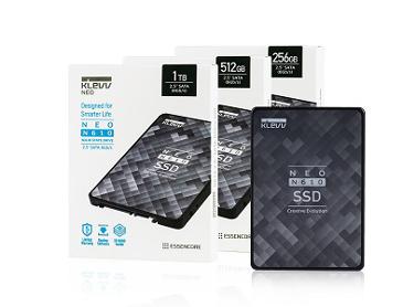 """에센코어, 4채널 컨트롤러 IC 기반 SSD NEO N610 2.5"""" SATA SSD 출시 예정"""