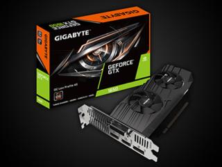 제이씨현 'GIGABYTE 지포스 GTX1650 D6 나노LP' 그래픽카드 출시
