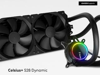 서린씨앤아이, 일체형 CPU 수랭 쿨러 '프렉탈디자인 셀시우스 플러스 다이나믹' 출시