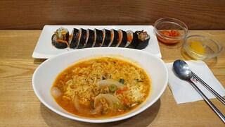 얌샘 김밥 기본 김밥은 비추