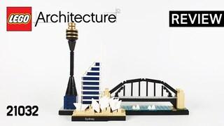레고 아키텍쳐 21032 시드니(Architecture Australia Sydney)  리뷰_Review_레고매니아_LEGO Mania