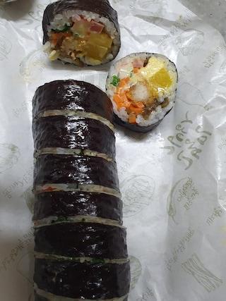 고봉민 돈까스 김밥