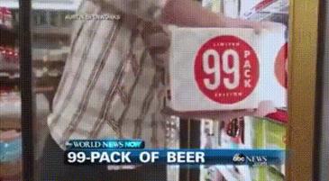 여보~ 나 맥주 한박스만 살게~