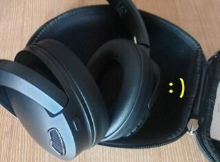 [헤드폰] 비토닉 무선 액티브 노이즈캔슬링 블루투스 헤드폰, 블랙, HF01