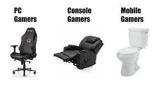 게이머들 장르별 즐겨 쓰는 의자