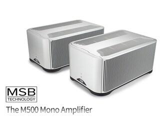 최정상급 파워앰프 메이커로써의 도약 MSB Technology The M500 Mono Amplifier