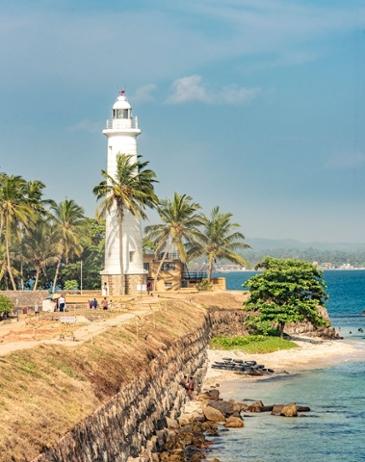 스리랑카 비치 로드- 빛나는 땅, 빛나는 바다