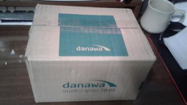 다나와 20주년 기념 이벤트 경품이 도착했습니다.