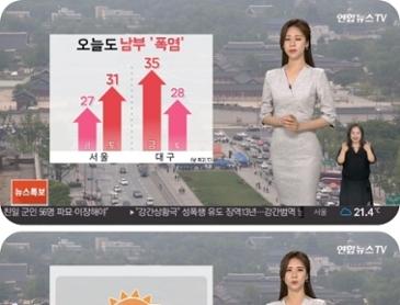 날씨 전국 맑음..남부 폭염특보, 더위 심해